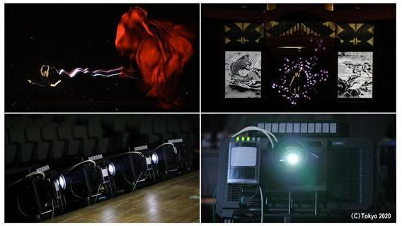 "Panasonic's Real-time Tracking and Projection Mapping Compatible Projector Impresses Audience at Tokyo 2020's ""One Year to Go"" Ceremony"