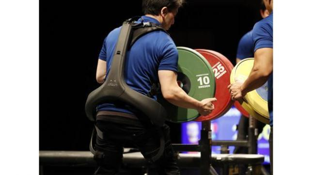 Panasonic's Power Assist Suit Adopted by World Para Powerlifting