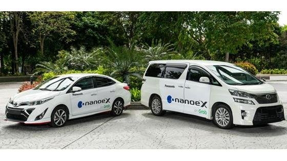 Panasonic's nanoe(TM) X Air Quality Solution Creates Comfortable Travel Space for Grabs' Premium Vehicles