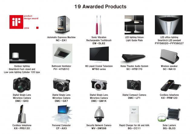 Panasonic Won 19 If Product Design Awards Panasonic