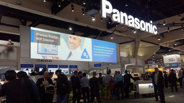 Smart Factory Solutions for Tier 1 Featured by Panasonic through the Small- to Mid-market at APEX 2018