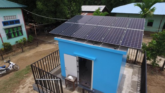 Panasonic Launches Off-grid Solutions Project in Myanmar to Celebrate Its 100th Anniversary