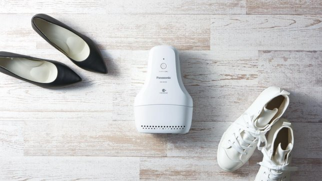 Panasonic Introduces the Shoe Deodorizer: Deodorizes Your Shoes While You Sleep