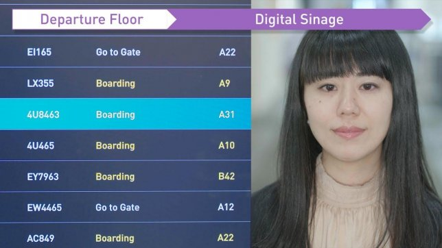Panasonic Exhibits Automated Airport Terminal Powered by Facial Recognition