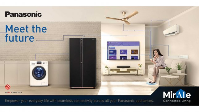 Panasonic Bets Big on Connected Living Solutions in India; Expands Miraie Range