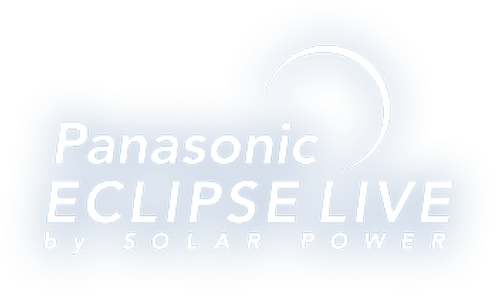 Panasonic ESCLIPE LIVE by SOLAR POWER