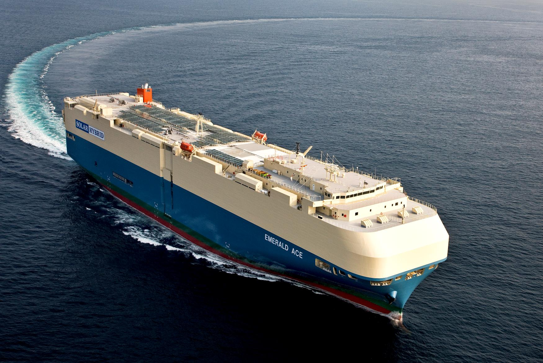 Panasonic 39 S Green Technology Helps Reduce Carbon Emissions From Ocean Going Car Carrier