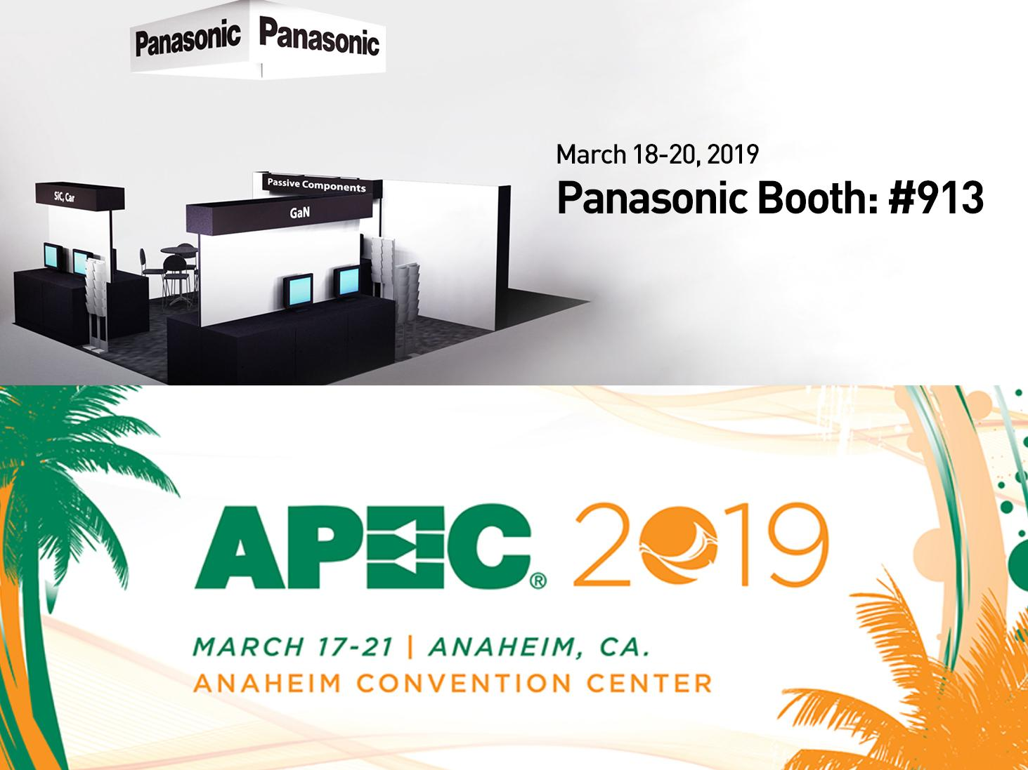 image: Panasonic booth image at APEC 2019