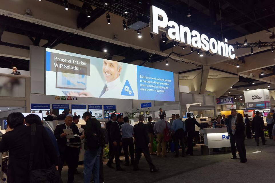 photo: Panasonic booth at APEX 2018