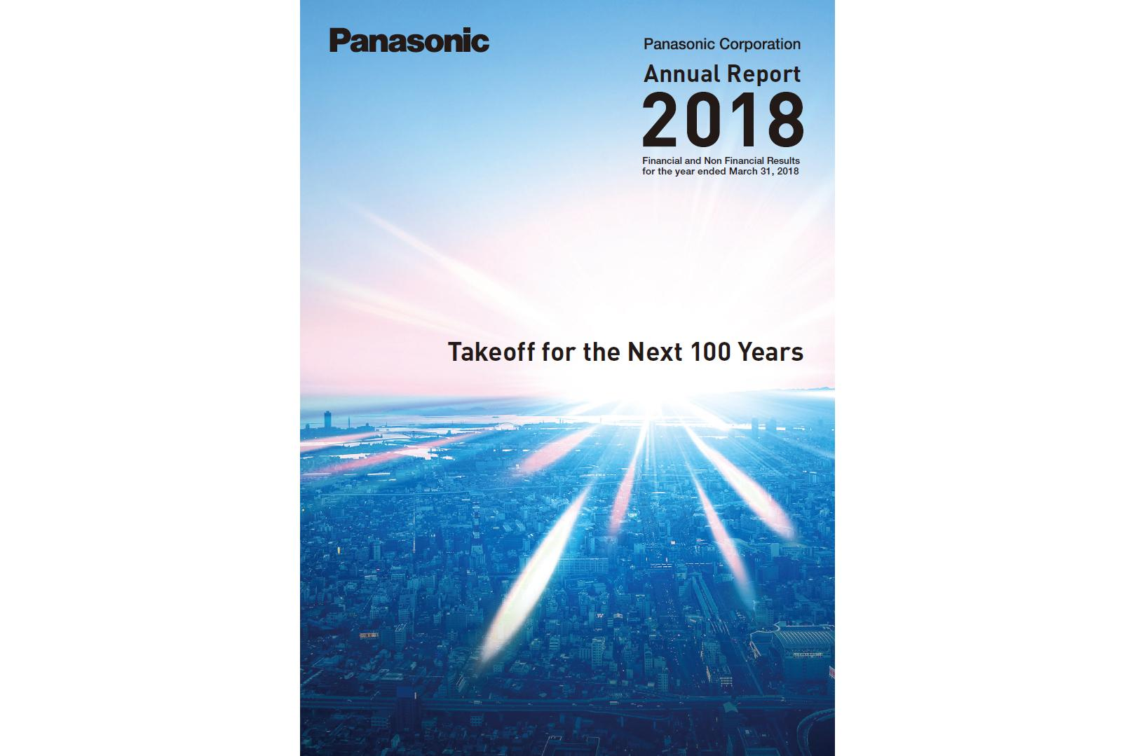 image: Panasonic Annual Report 2018