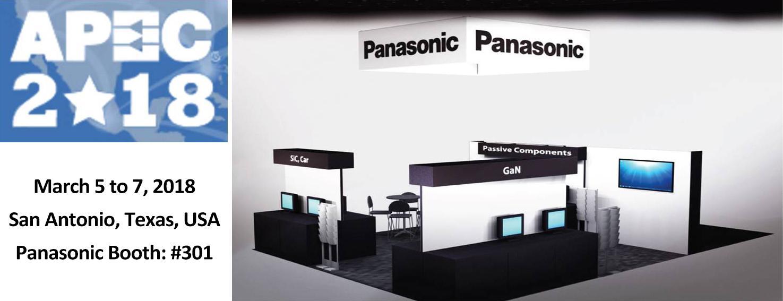 image: panasonic booth at apec2018