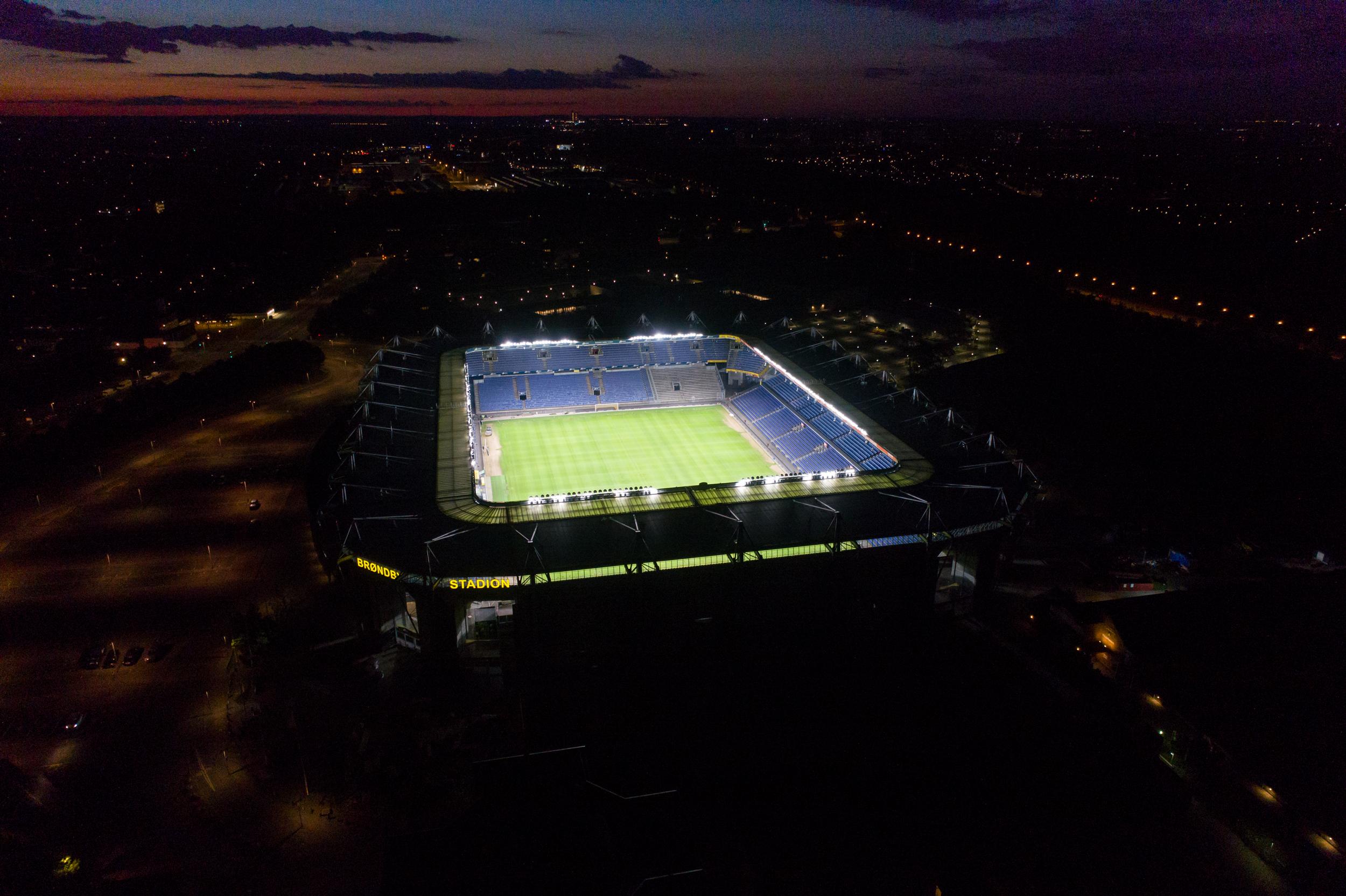 photo: Brondby IF's stadium
