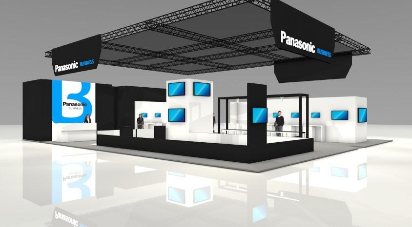 image: panasonic booth at CeMAT 2018