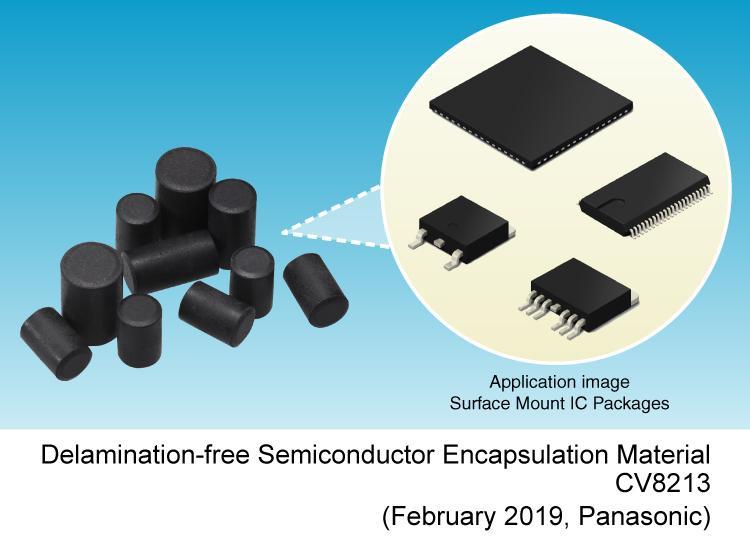 image: Delamination-free Semiconductor Encapsulation Material CV8213