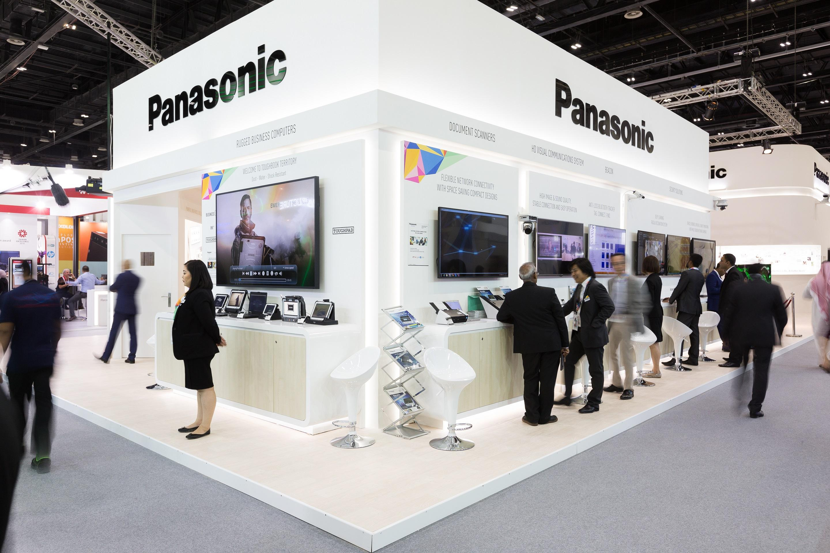 photo: Panasonic booth at GITEX 2018