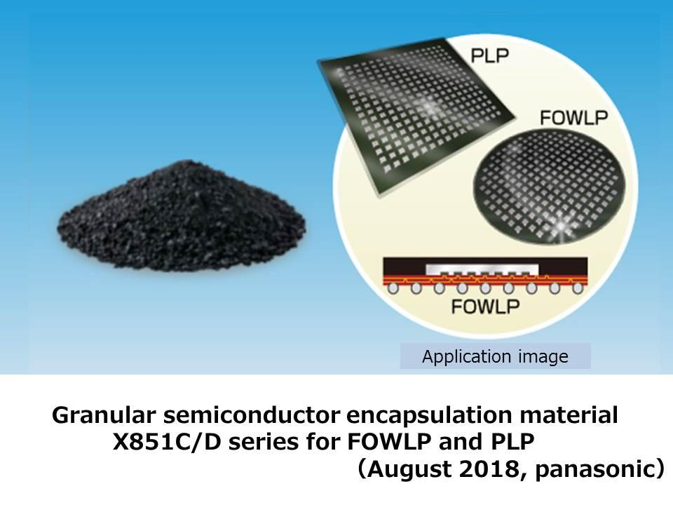 figure: granular semiconductor encapsulation material