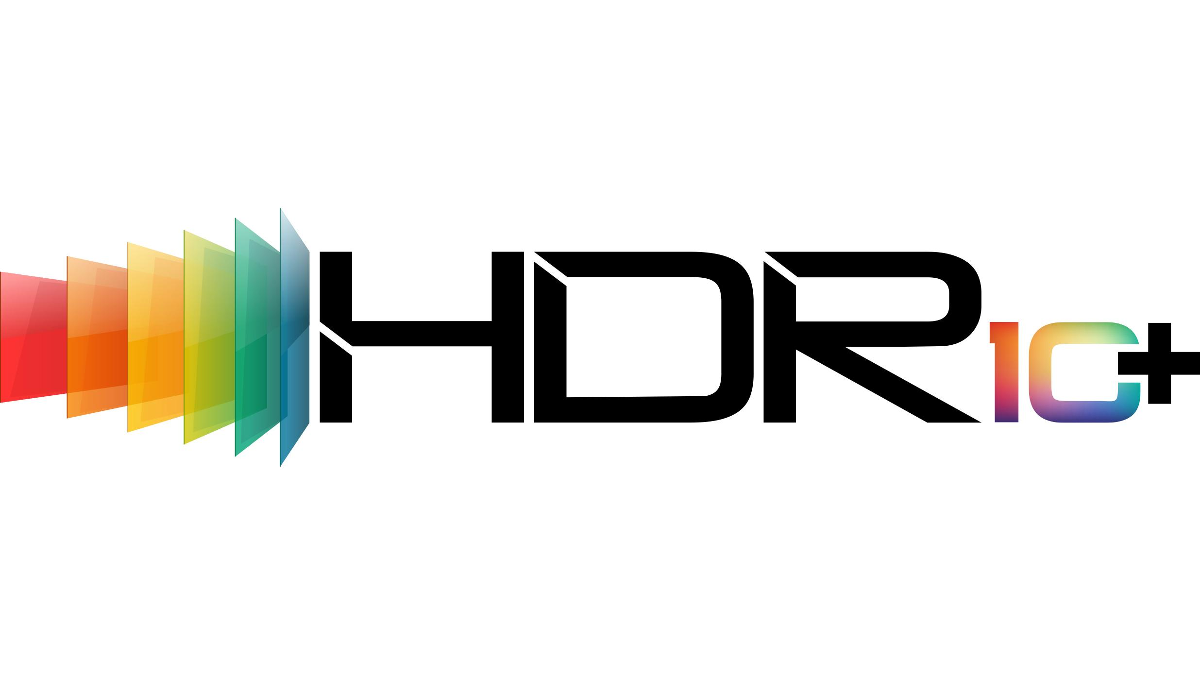 image: HDR10+ logo in color