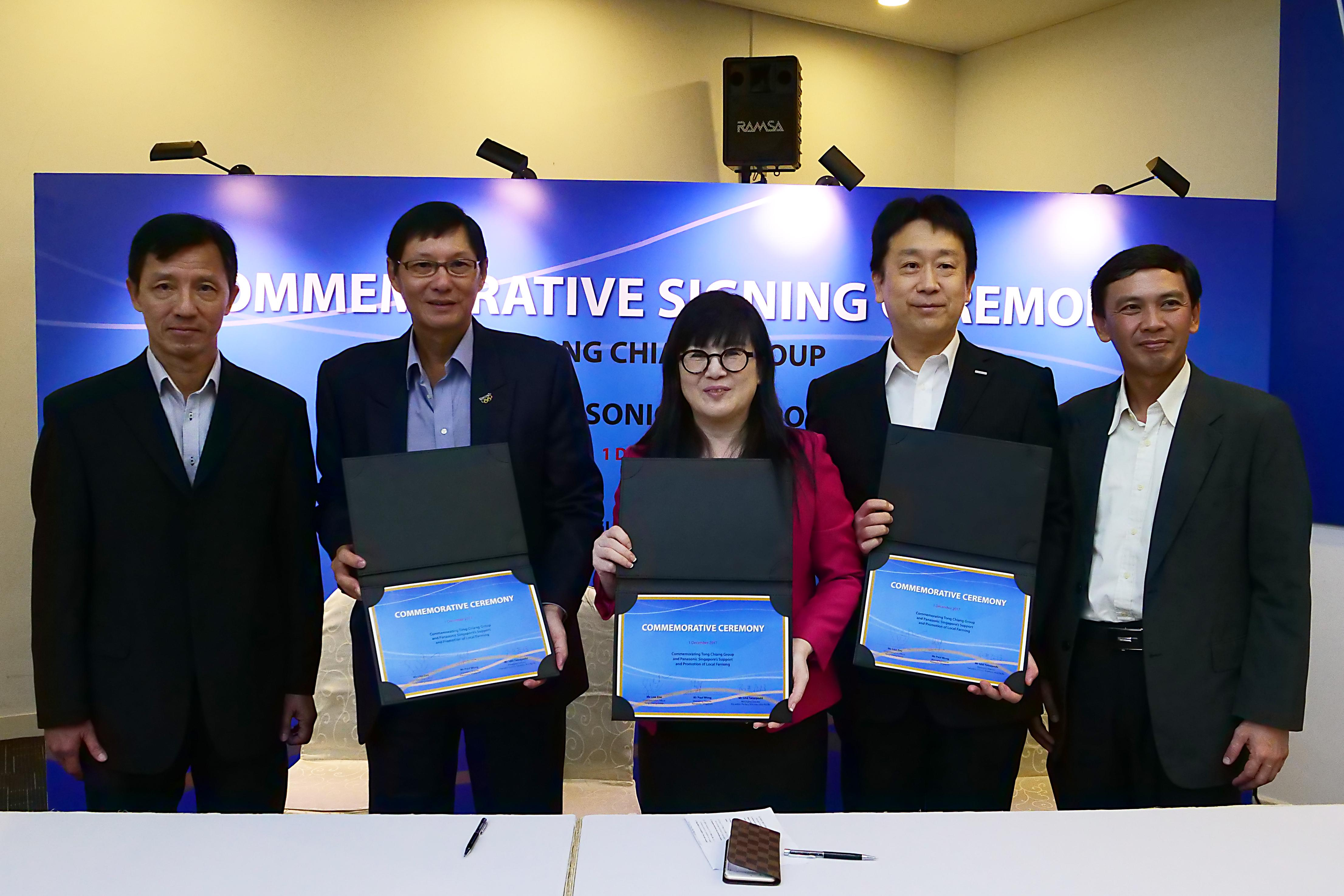 photo: at the signing ceremony