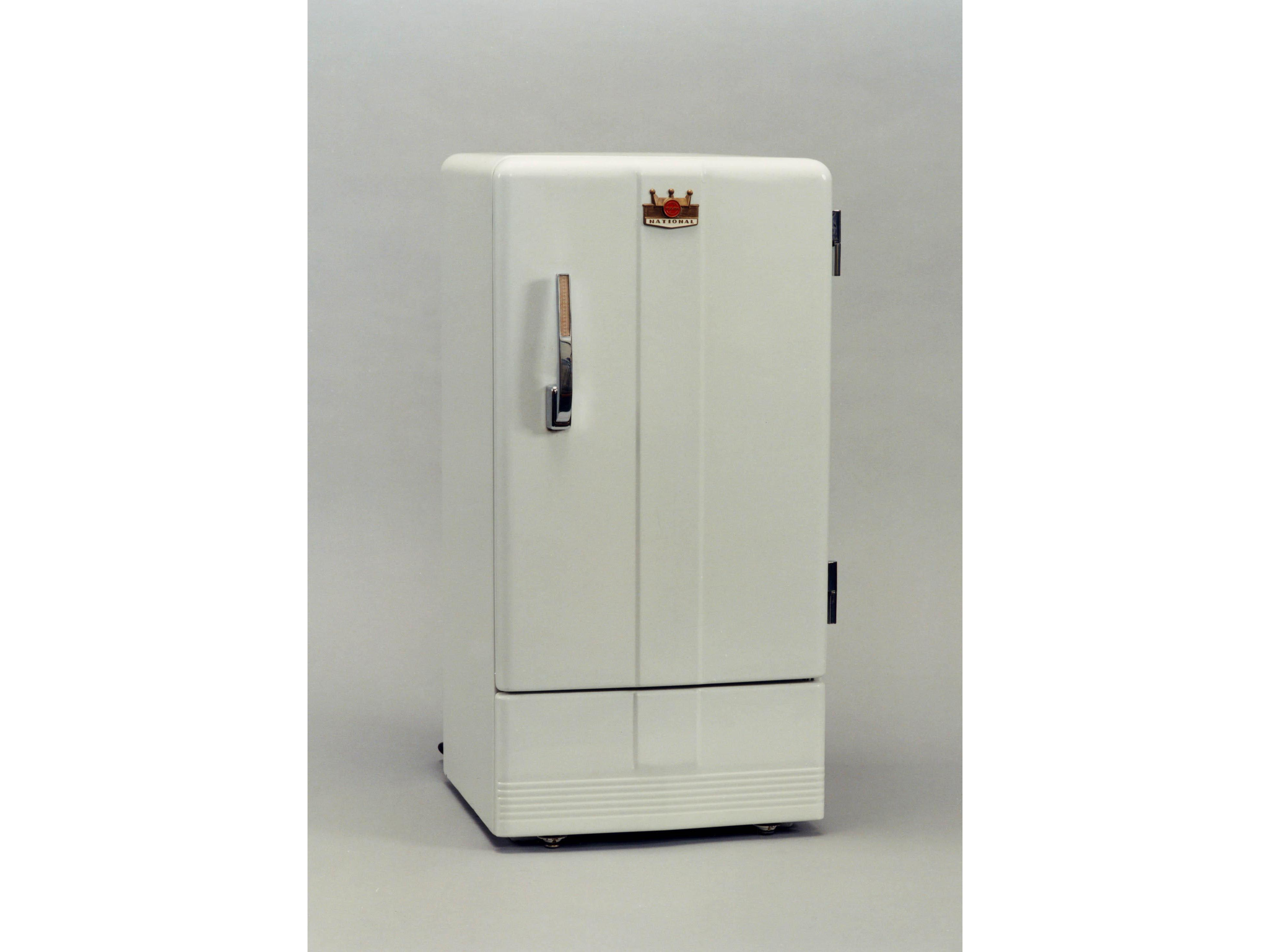 photo: The NR-351, the first household refrigerator model