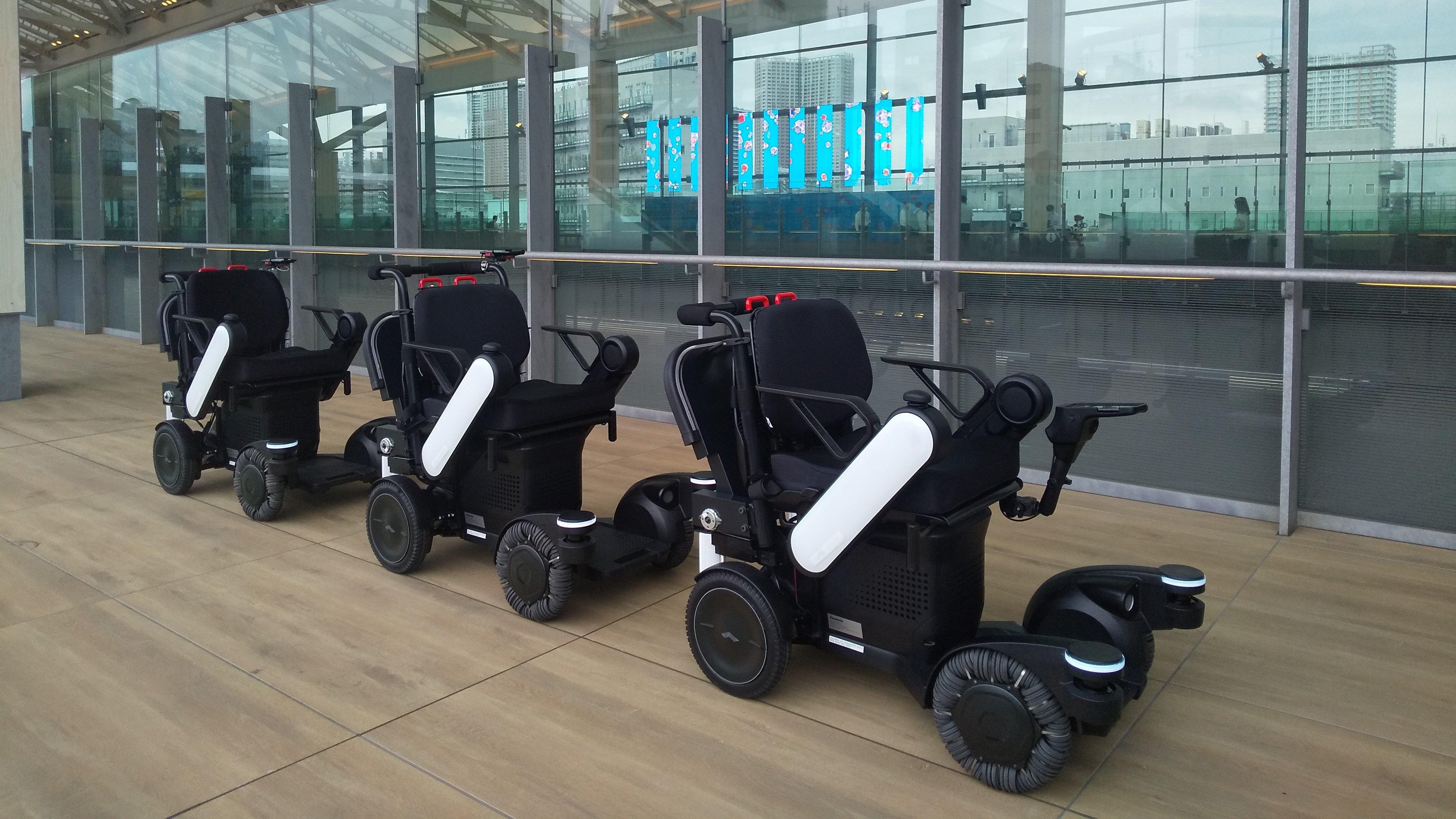 Photo: Autonomous tracking robotic mobility