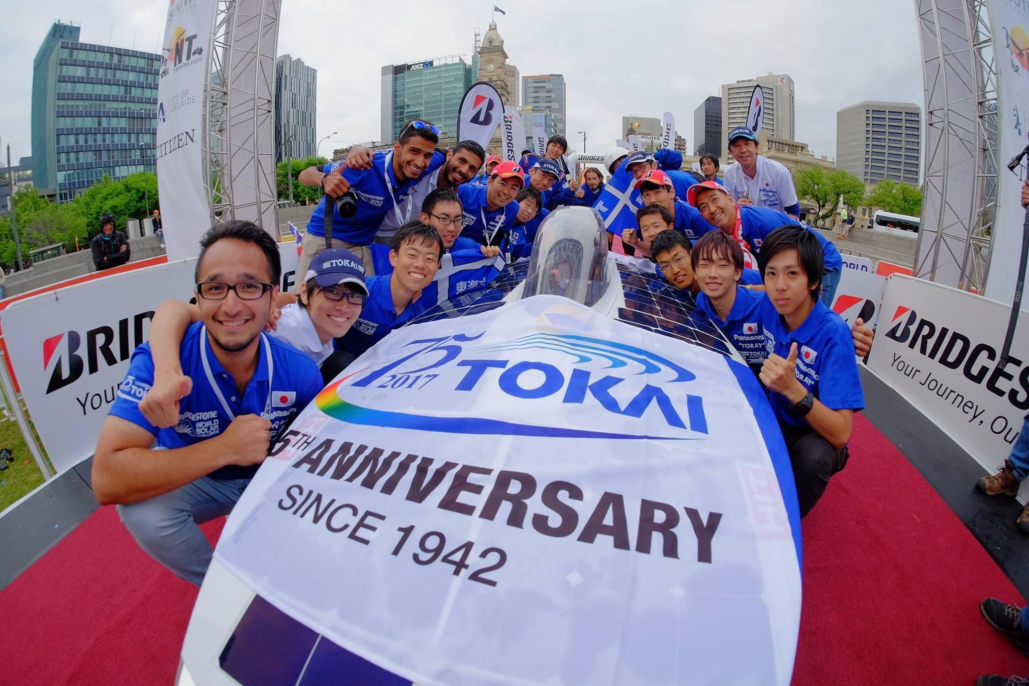 photo: Tokai Univ. solar car team