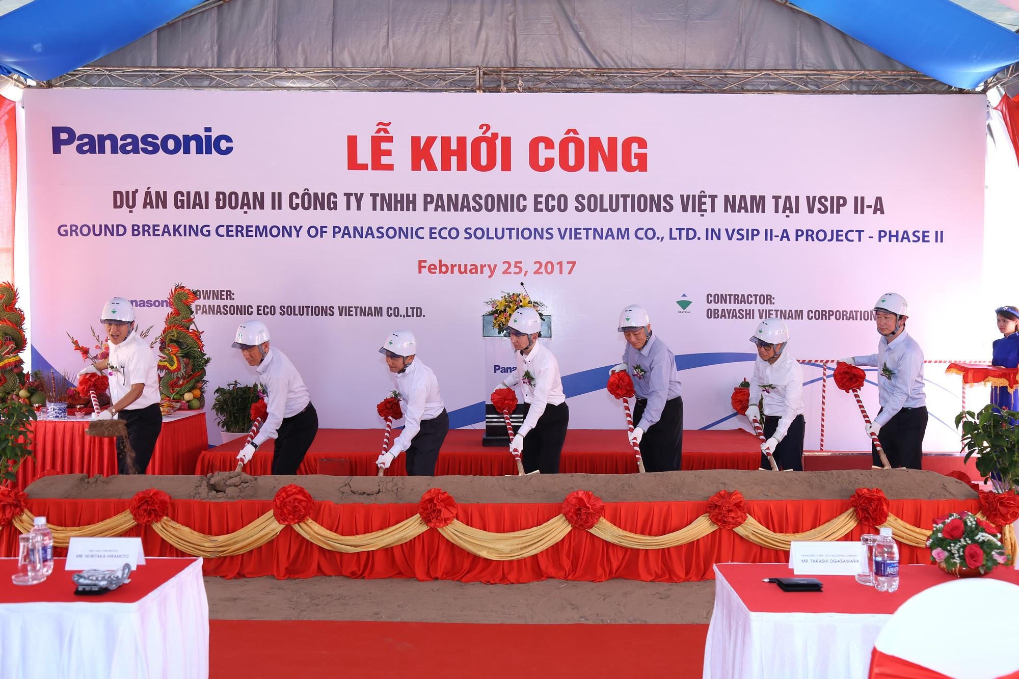 Panasonic To Expand Wiring Devices And Circuit Breakers Production Breaker The Groundbreaking Ceremony At Panasonics Factory Of Pesvn