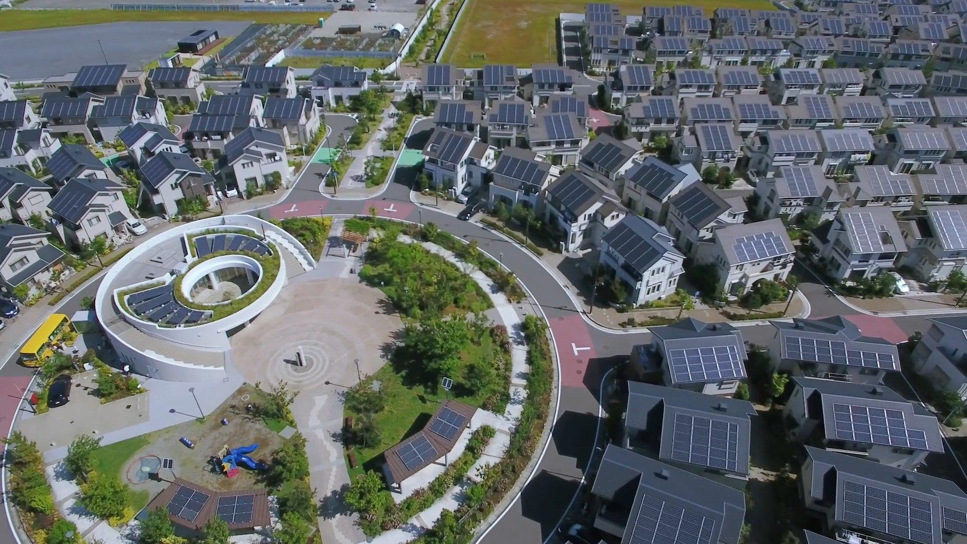 Photo: Fujisawa Sustainable Smart Town