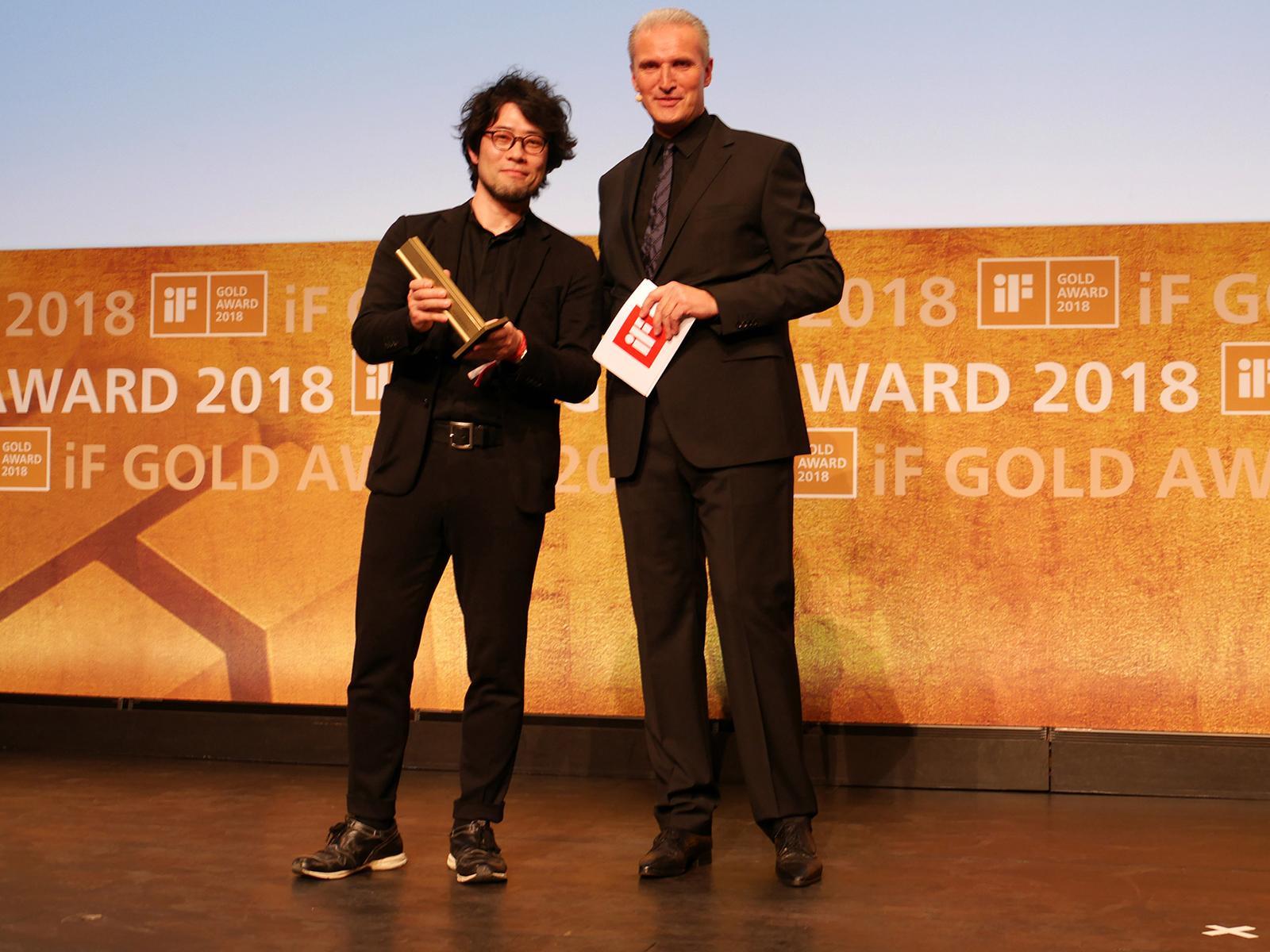 photo: panasonic won 2 golds at iF design award 2018