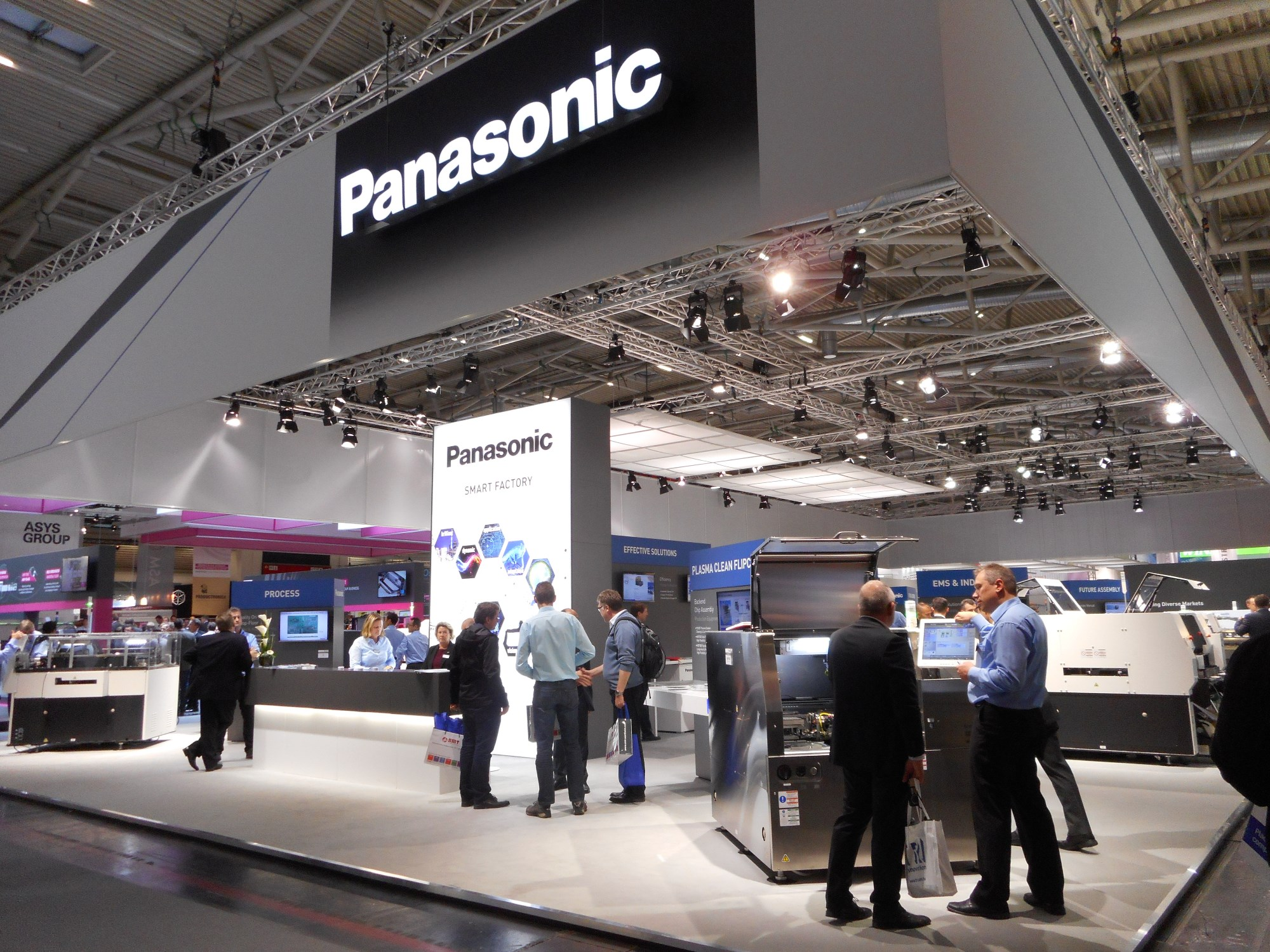 Panasonic Proposed Advanced Factory Solutions At