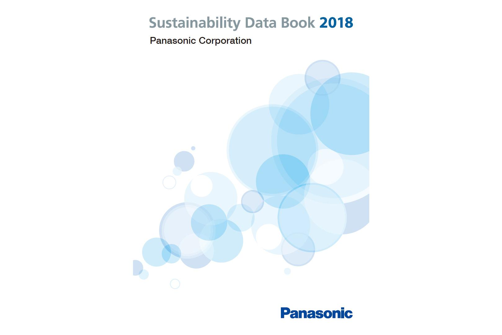 image: Panasonic Sustainability Data Book 2018