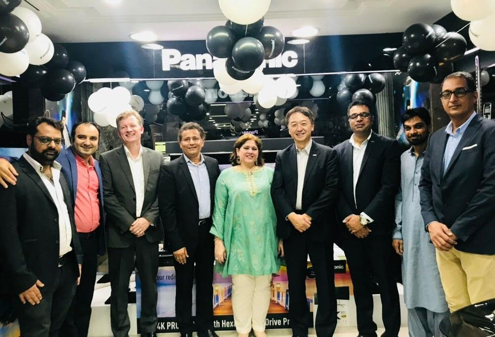photo: panasonic's showrooms opened in Pakistan