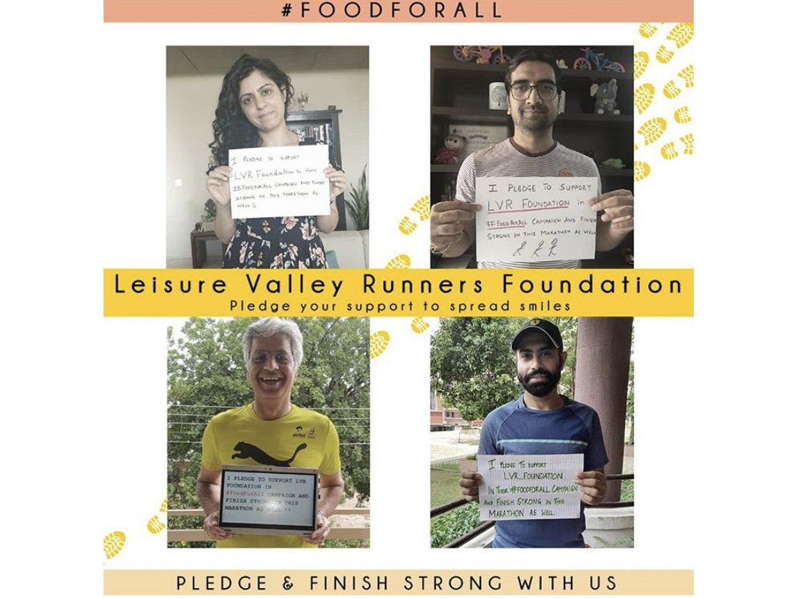 Leisure Valley Runners Foundation that Atul Arya supported