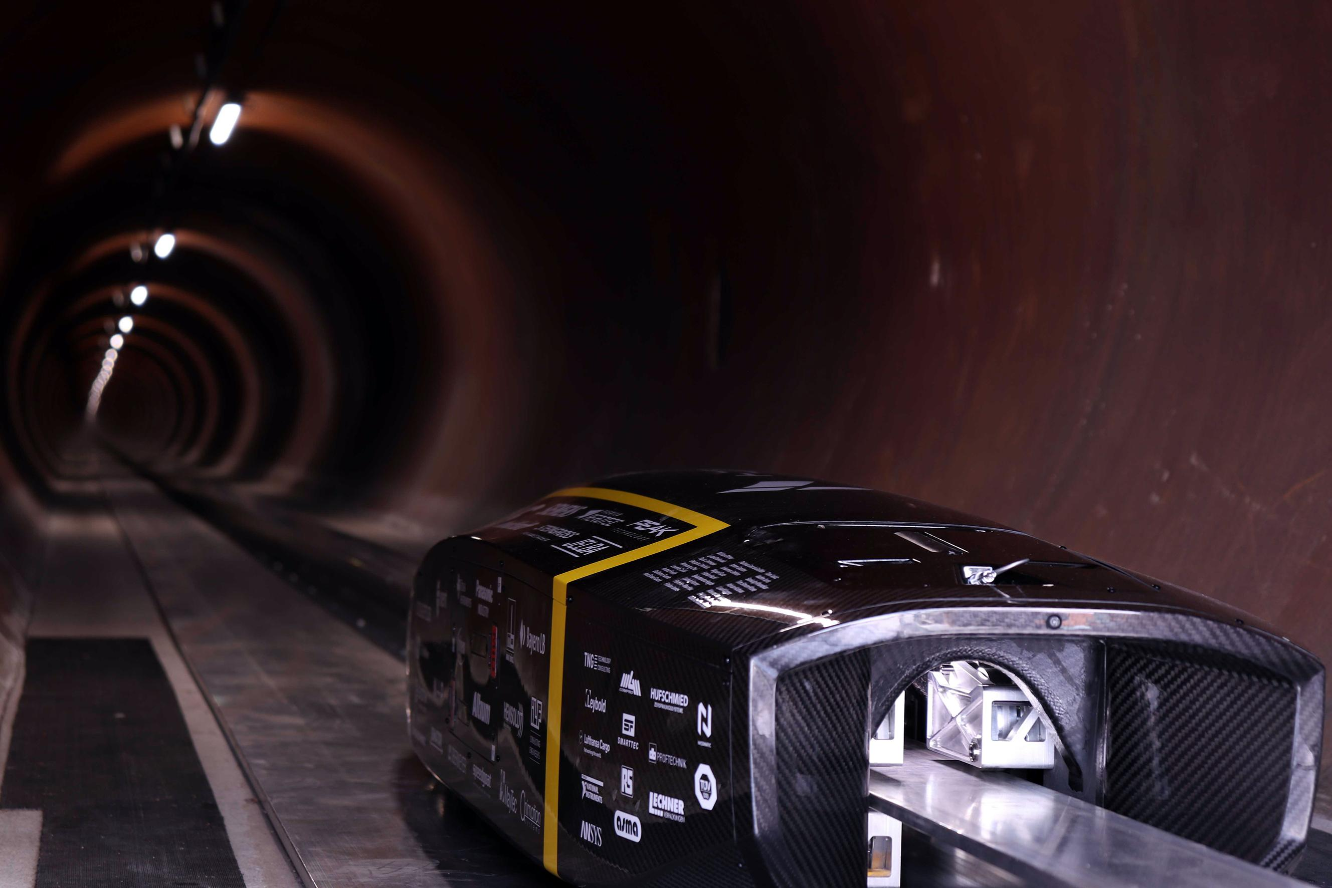 photo: The TUM Hyperloop project supported by Panasonic Industry Europe
