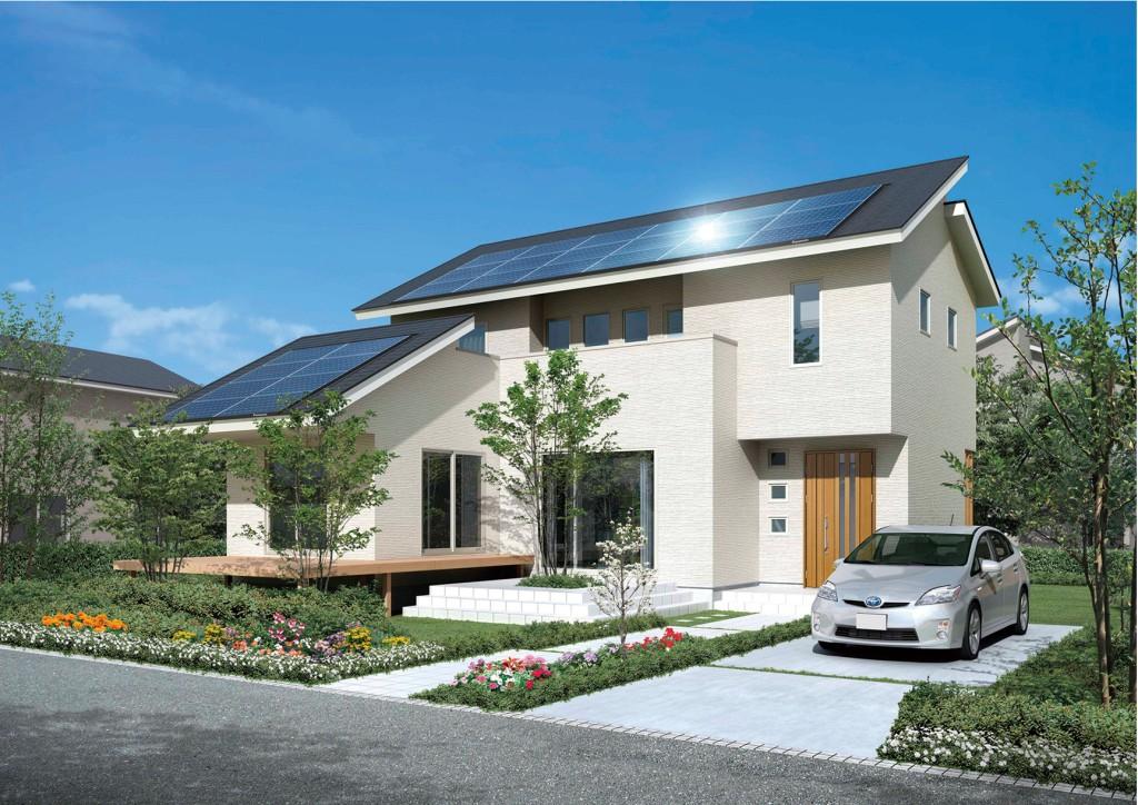 panasonic brings smart eco housing to japan panasonic newsroom global. Black Bedroom Furniture Sets. Home Design Ideas