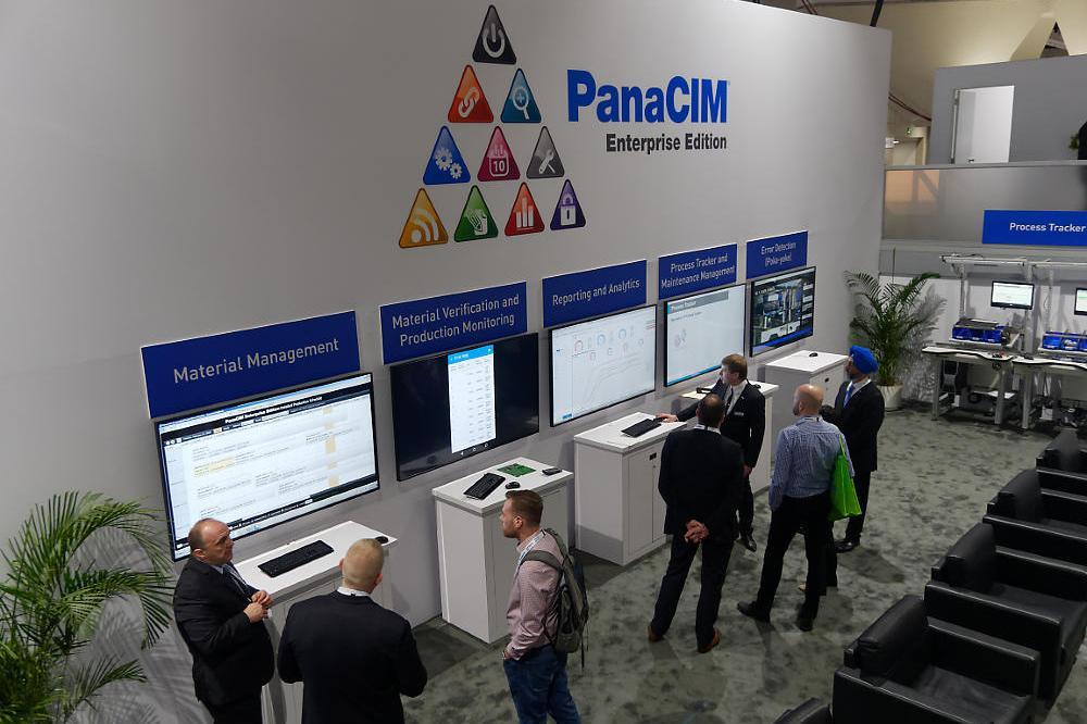 photo: panasonic's PanaCIM at APEX 2018