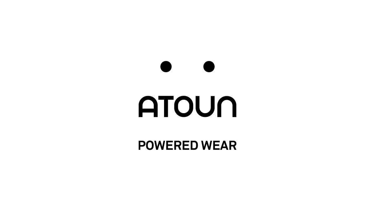 logo: Powerd wear by ATOUN