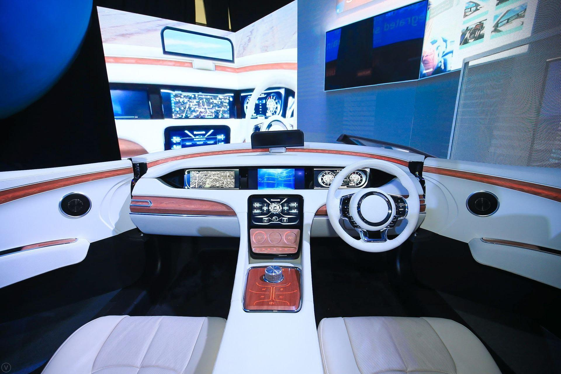 photo: automotive booth at panasonic future expo