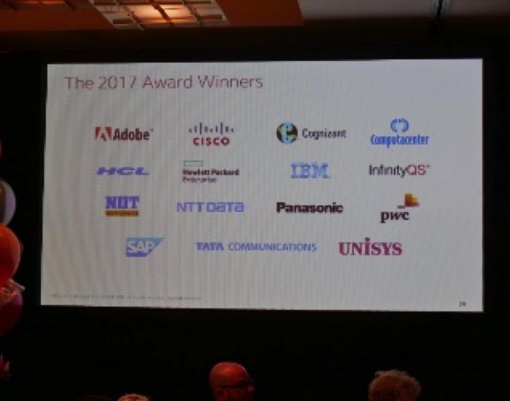 Photo: award winners
