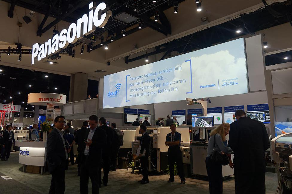 photo: photo: Panasonic booth at APEX 2018