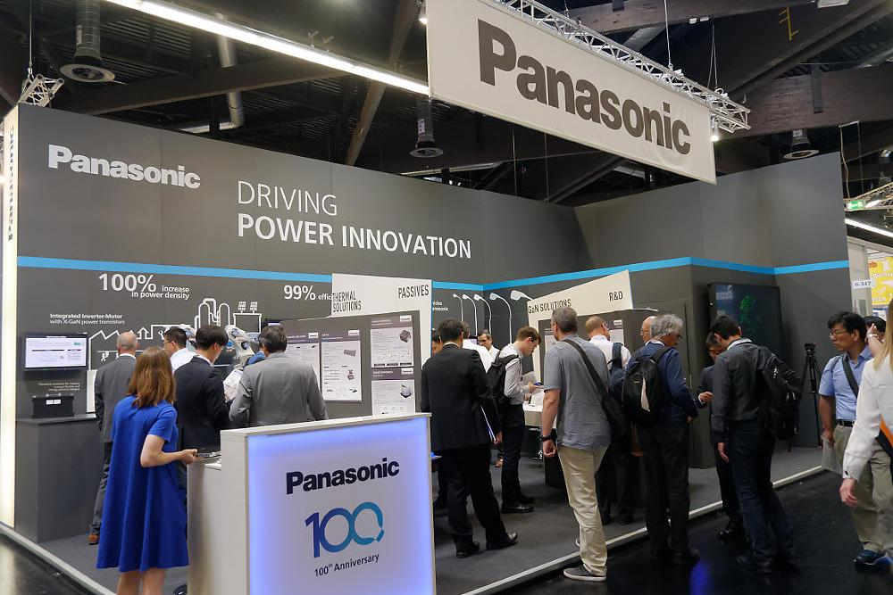 photo: Panasonic booth at PCIM 2018