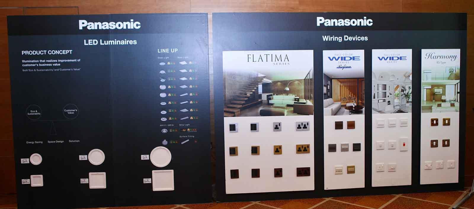 05 DealerMTG UAE Panasonic LED Luminaires And Wiring Devices