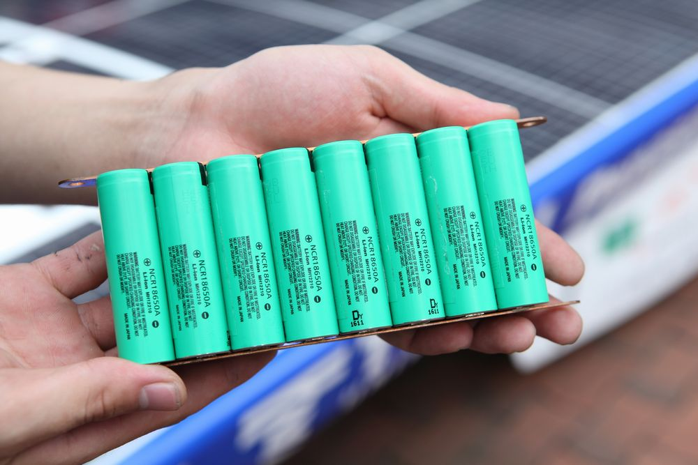 Panasonic Hit Solar Cells And High Capacity Batteries To