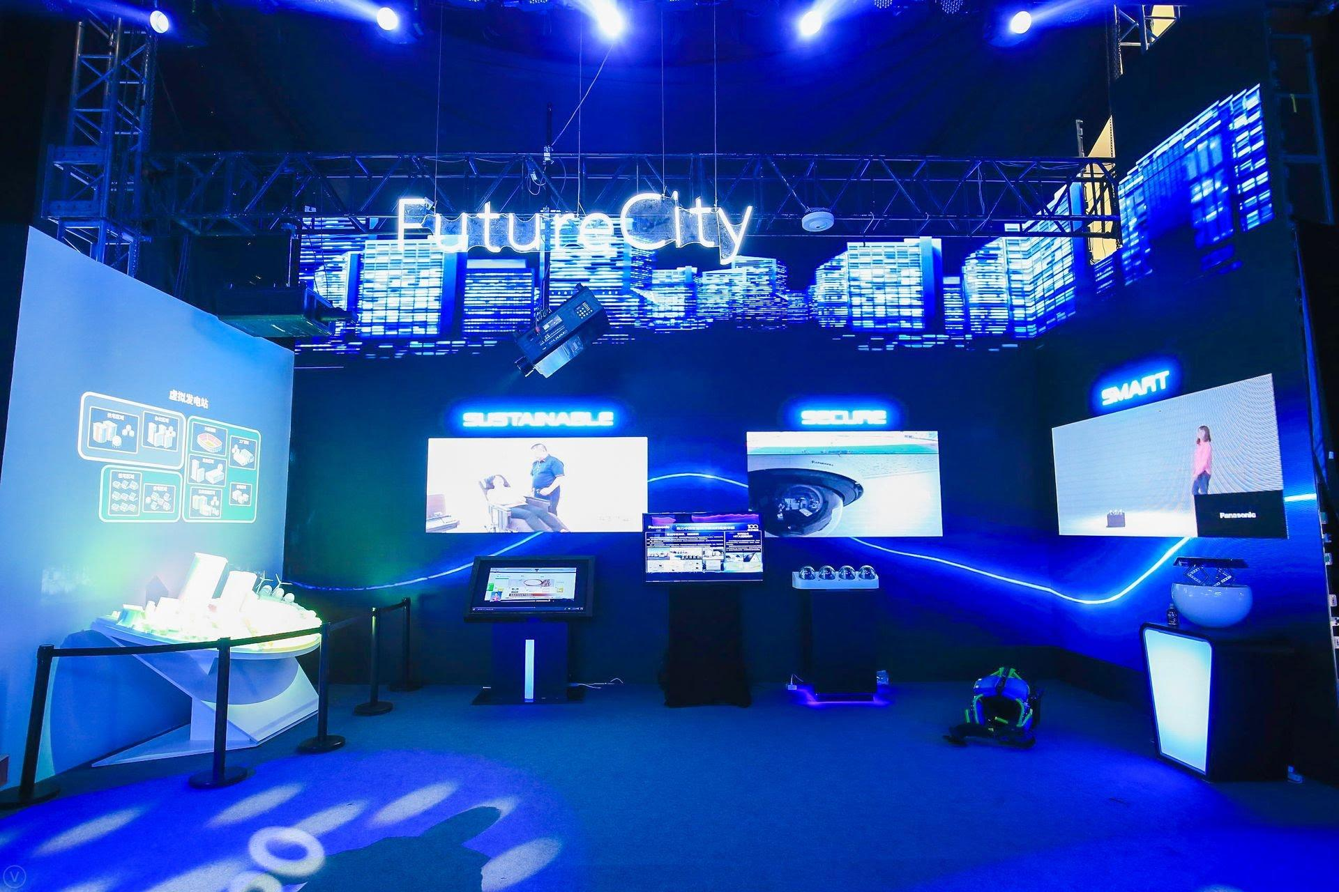 photo: future city booth at panasonic future expo