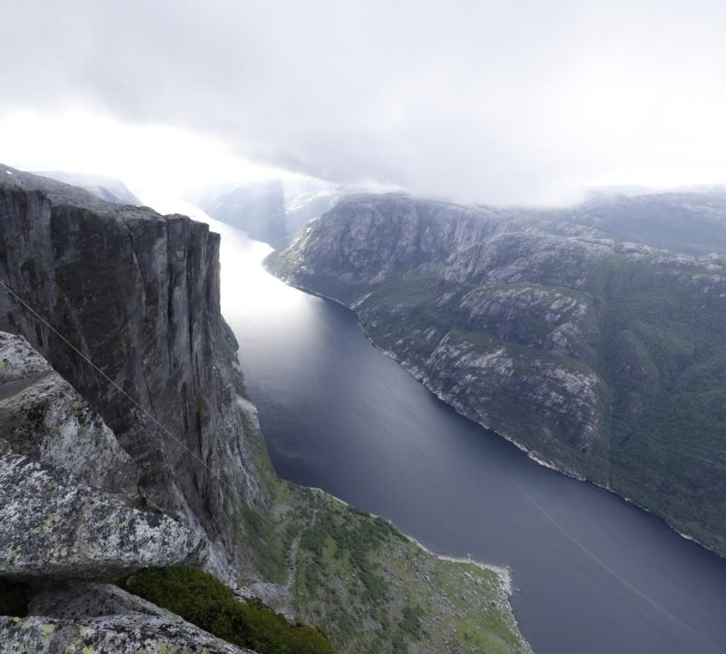 Scenery of the fjord