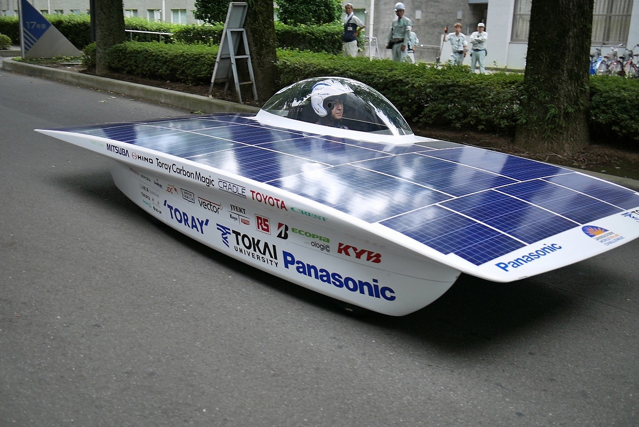 Panasonic Is Supporting The Tokai University Solar Car