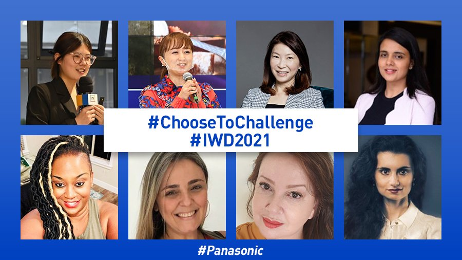 International Women's Day: Choose to Challenge: Voices from Panasonic