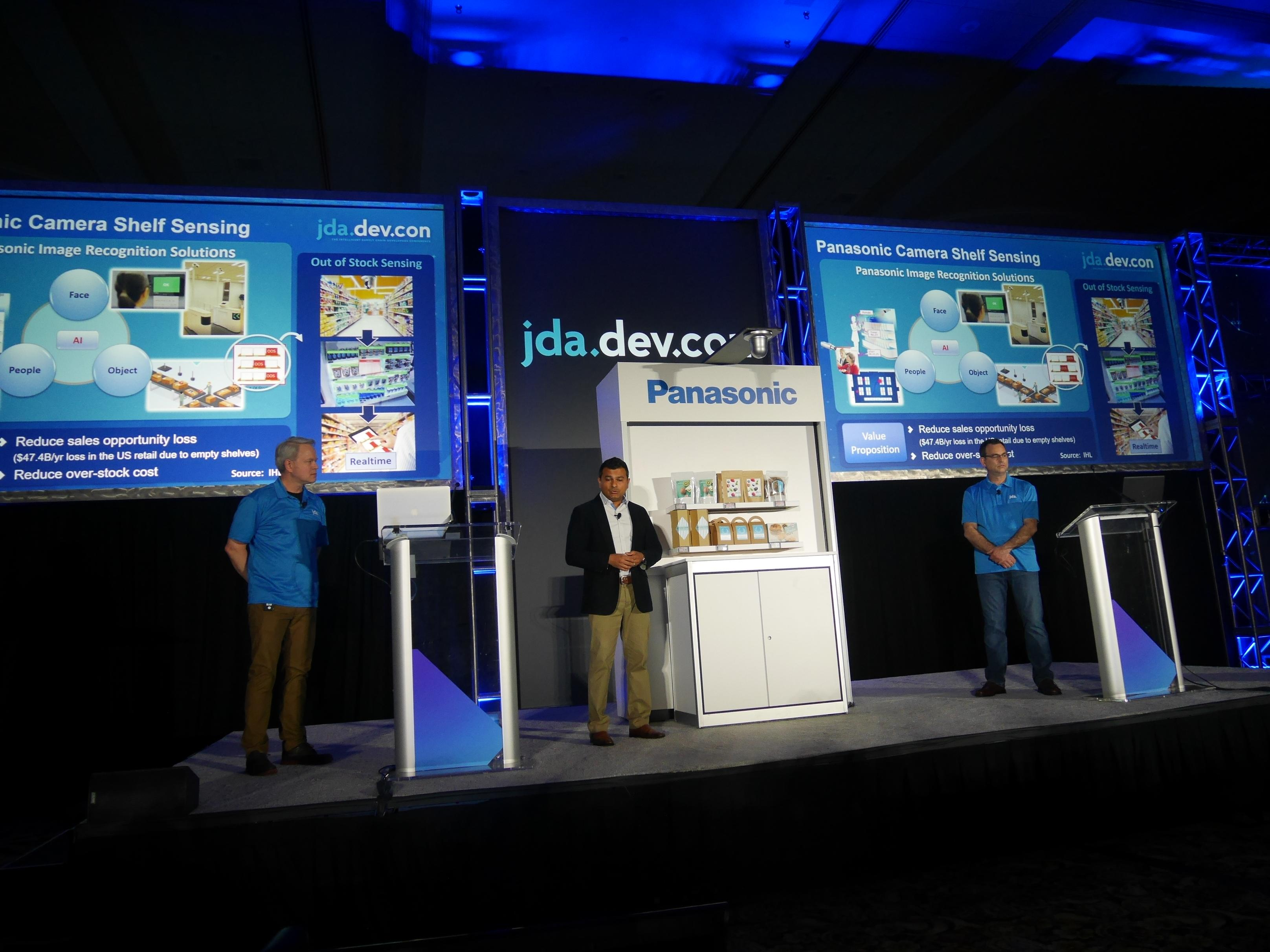 photo: Panasonic took part in the first-ever JDA DEVCON event and explained the joint solutions it has created with JDA to relevant parties.