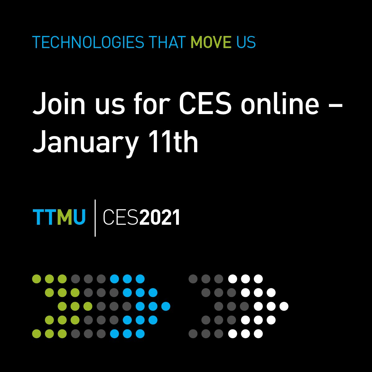 Join us for Panasonic CES 2021 online from January 11, 2021
