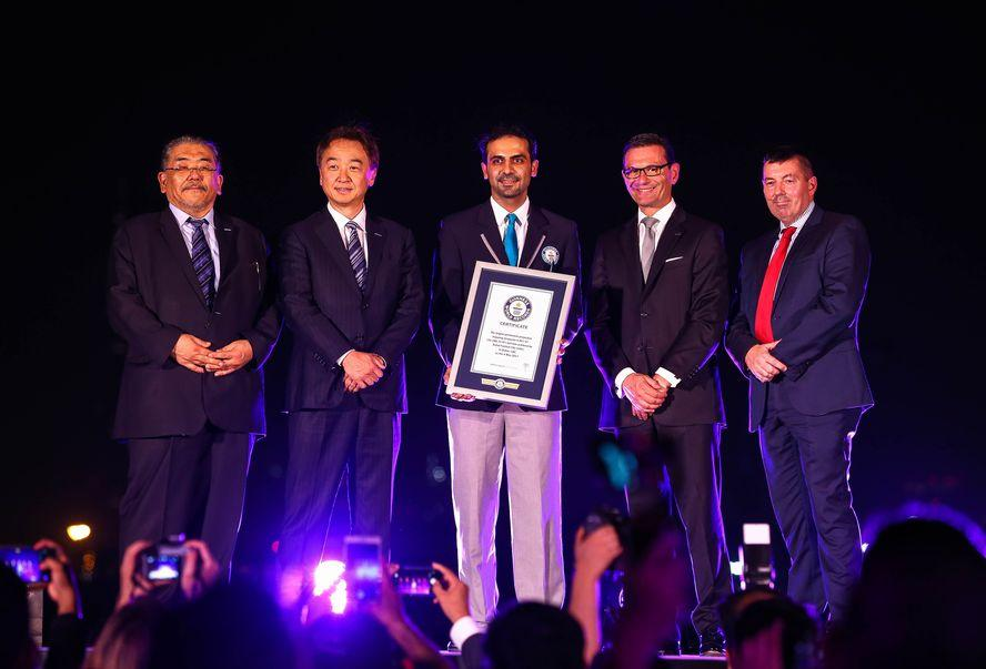 Festival City's IMAGINE Show with Panasonic Projectors Receives Second Guinness World Record
