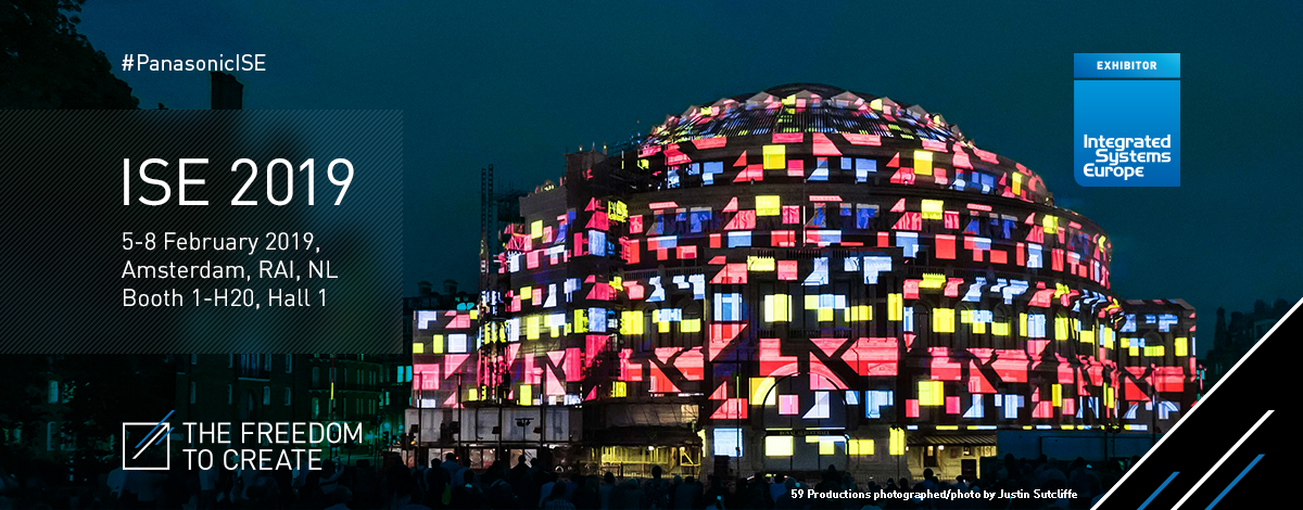 Image of a case study of projection mapping